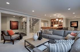 Basement Decorating Ideas That Expand Your Space - Family room in basement