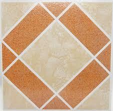 Kitchen Vinyl Floor Tiles by New 50 Self Adhesive Stick Vinyl Floor Tiles Parquet Square Red