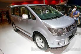 mitsubishi van 2016 mitsubishi attrage diesel delica mpv considered for india