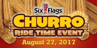Six Flags Food Pass Churro Ride Time Event Six Flags Magic Mountain