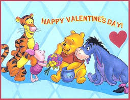 cards mouse winnie pooh valentines 2