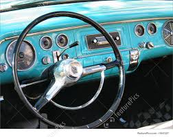 car dashboard auto transport old classic car dashboard stock picture i1647227