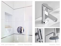 Chrome Bathroom Fixtures Interior Details Fixtures Finishes Myd Moss Yaw Design