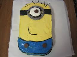 how to make the minion cake from despicable me youtube
