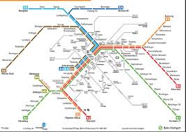 Metro Viena Map by Stuttgart Transport Map