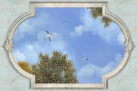 soffitti dipinti ste e gigantografie da parete rivenditore affreschi e dipinti