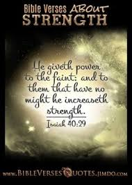 bible verses strength overcomer bible