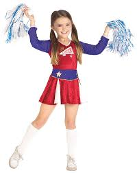 Halloween Costumes Girls 8 10 Girls Cheerleader Costume Cheerleader Costumes U0027s Play
