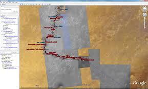 Google Maps San Antonio Google Mars Base Maps Available For Opportunity U0027s Future Traverse