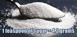 sea salt equivalent to table salt how many grams of sugar in a teaspoon food pyramid