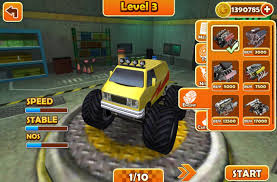 monster trucks videos crashes monster truck stunt 3d android apps on google play