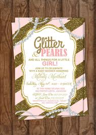 baby shower baby shower glitter and pearls all things
