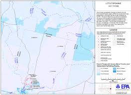 Spokane Zip Code Map Little Spokane Watershed