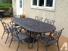 Iron Patio Table Set Outdoor Iron Table Counter Tables Metal Outdoor Table Setting