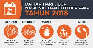 Kalender 2018 Hari Libur Kalender 2018