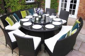 Round Patio Table Cover With Zipper by Uncategorized Superior Round Glass Patio Table And Chairs
