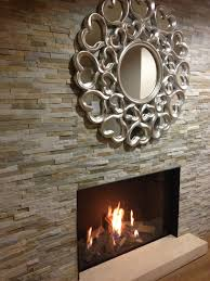 Tiled Fireplace Wall by Feature Oyster Split Face Fireplace Wall Tiles Naturalstone