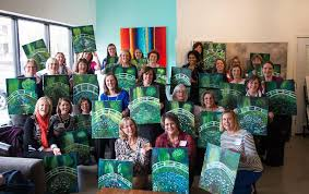 hook gallery framing studio ob painting party event space in kc painting and wine kansas city