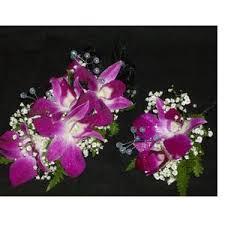 Orchid Corsage Brea Florist Bombay Orchid Corsage U0026 Boutonniere Brea Ca 92821