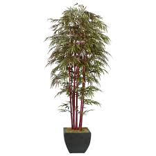 realistic 8 foot artificial bamboo tree free