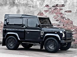 Car Crush Land Rover Defender Harris Tweed Edition By Kahn Design