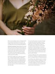 ethical wedding planning as seen in white magazine