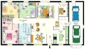 plan maison 4 chambres gratuit plan maison plain pied gratuit enchanteur plan maison 4 chambres