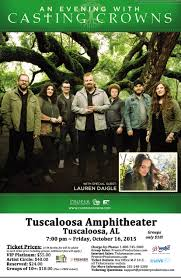 an evening with casting crowns tuscaloosa al 2015