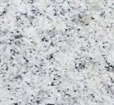 technical detail white ornamental polished granite