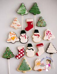 christmas cookie decorating with fondant tutorial veena azmanov