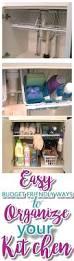 kitchen cabinet organization ideas upper storage diy organizing
