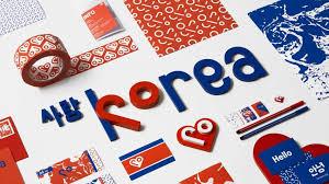 Korean Design   snask rebrands north korea as love korea with heart focused identity