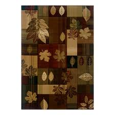 Area Rugs For Cabins Universal Rugs 106548 Brown 5x8 Area Rug 5 Feet 3 Inch By 7 Feet