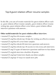 office resume examples top8guestrelationofficerresumesamples 150408081357 conversion gate01 thumbnail 4 jpg cb 1428498886