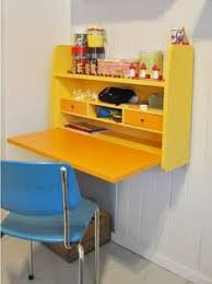 Small Childrens Desk Yellow Hanging Wall Desk For Small Room