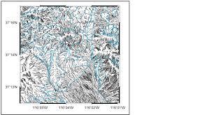 quantitative geomorphometrics for terrain characterization