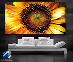 Bright Bold and Popular Yellow Wall Art Using Yellow Wall Decor