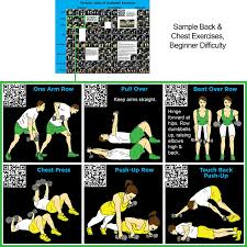 periodic table poster large dumbbell exercise poster large periodic table of dumbbell
