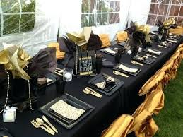 black and gold party decorations black and gold table decorations thelt co