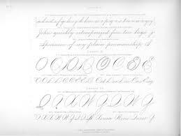 17 best spencerian images on lettering