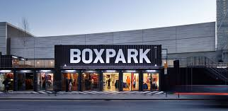 boxpark shopping hoxton shipping container pinterest