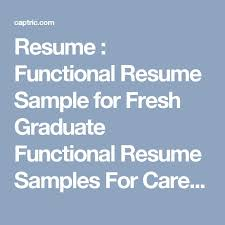 Functional Resume Template Word Best 25 Functional Resume Template Ideas On Pinterest