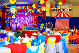 Circus Birthday Decorations Centerpiece Archives Party Themes Inspiration