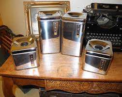 kitchen canisters canada vintage kitchen canisters etsy