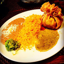 luna modern mexican kitchen menu chimichanga looking so fancy carnitas inside really good yelp
