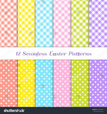 royalty free gingham and polka dot patterns in 6 u2026 128354309 stock