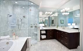 Large Bathroom Showers Corner Shower Configurations That Make Use Of Dead Spaces
