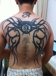22 horus eye tattoo on neck
