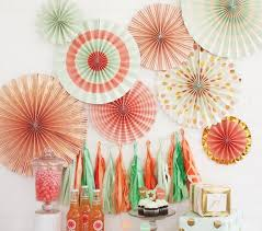 party fans party fans buntings door curtains design my party