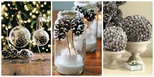 Table Decorating Ideas by 21 Holiday Pine Cone Crafts Ideas For Pinecone Christmas Decorations